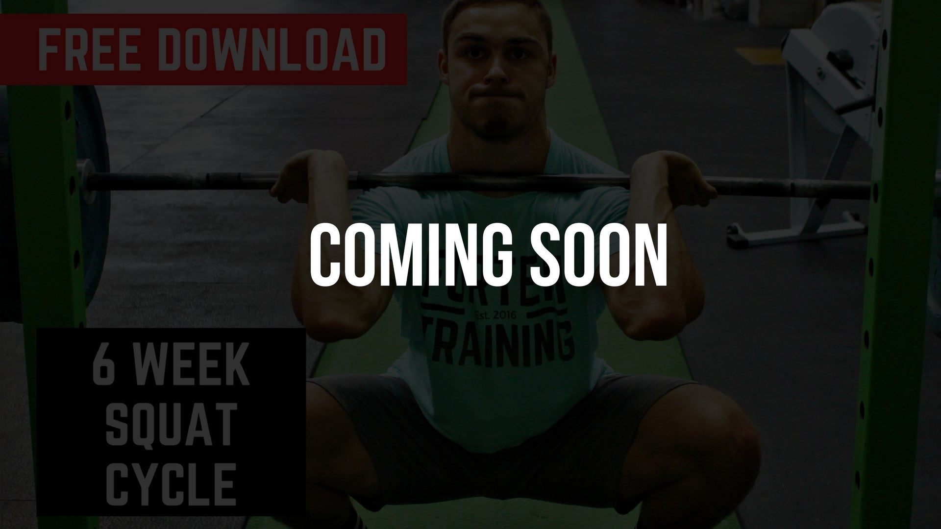 Fortem Training Free 6 Week Squat Strength Cycle