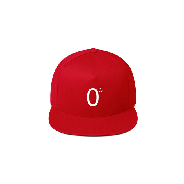 ZERO DEGREES SNAPBACK RED