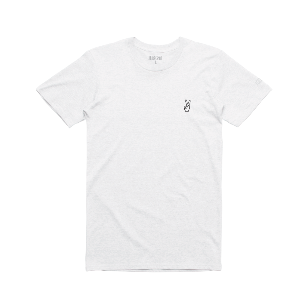 Embroidered Peace T-Shirt