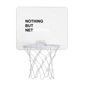 NOTHING BUT NET WORTH Mini Hoop