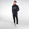 Men's Poly Track Top Black