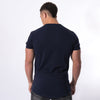 Men's Longline T-Shirt Navy