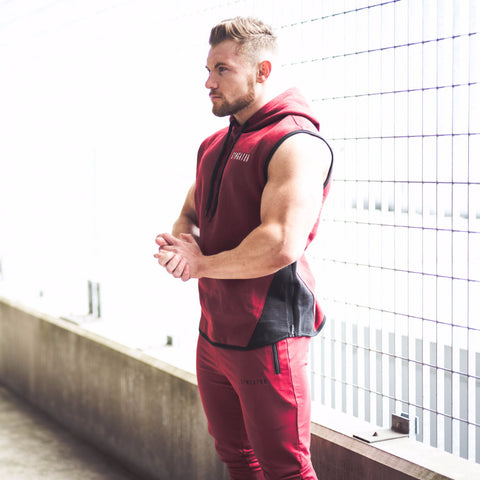 Men's Icon Tracksuit Burgundy