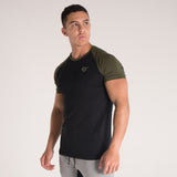 Men's Icon T-Shirt Khaki/Black
