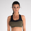 Women's Onyx Sports Bra 2.0 Khaki / Black