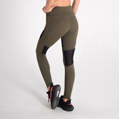 Women's Onyx Leggings Khaki