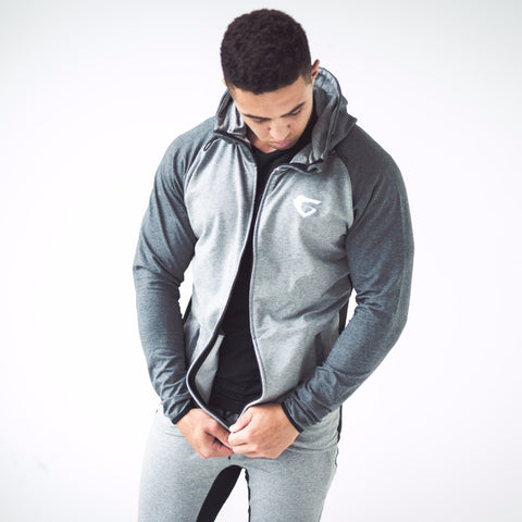 Men's Onyx Tracksuit Grey Marl