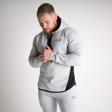 Men's Icon Long sleeve Pullover Grey Marl