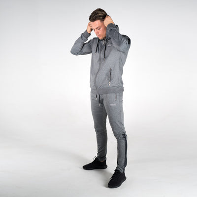 Men's Poly Hoodie Charcoal