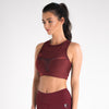 Women's Onyx Sports Bra Burgundy