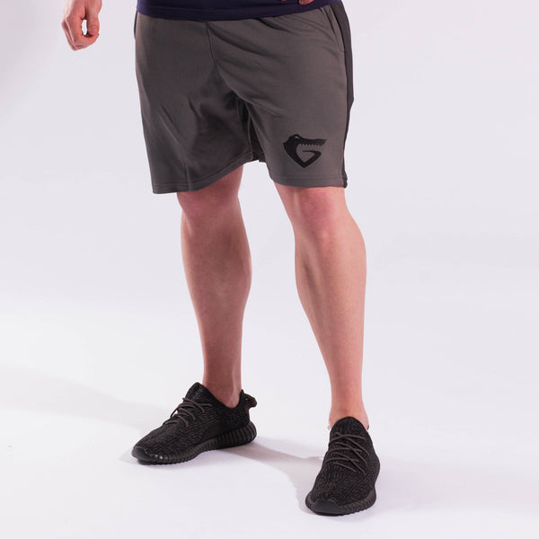 Mens Performance Shorts (Grey/Black)