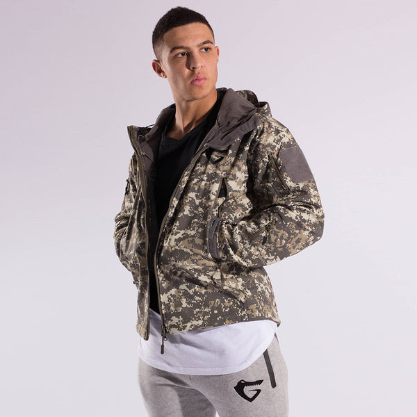 Mens Winter Camo Jacket