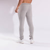 Gymgator workout clothing for men: slim fit grey Joggers with zip pockets