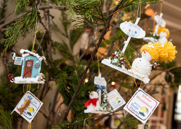 Winter Christmas Tree Decorations