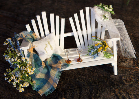 Mini Adirondack Chairs for Weddings and Special Events