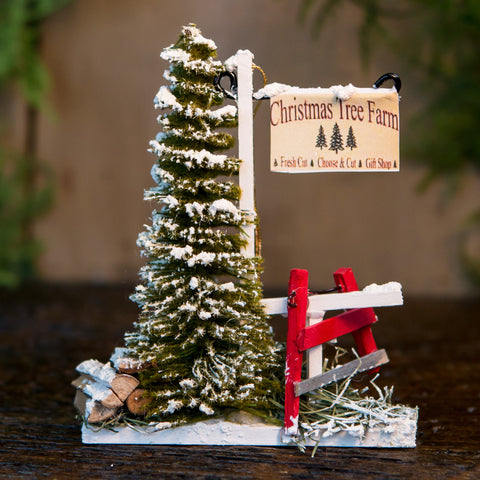 Christmas Tree Farm Ornament