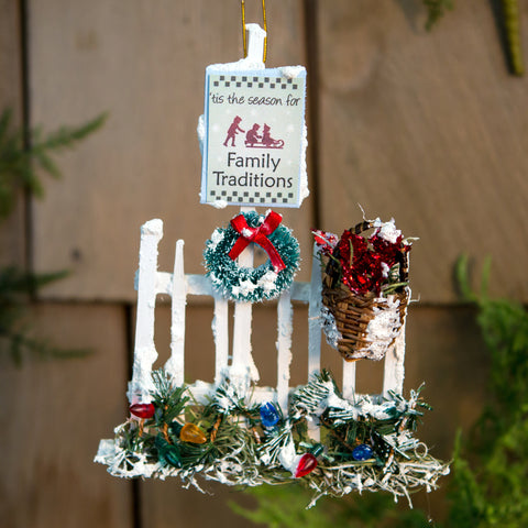 Family Traditions Ornament