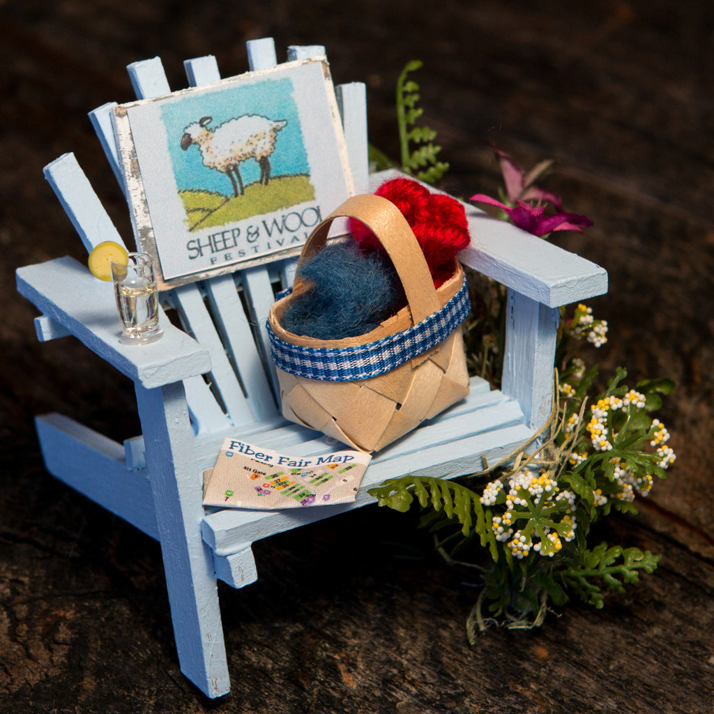 Sheep and Wool Festival Chair