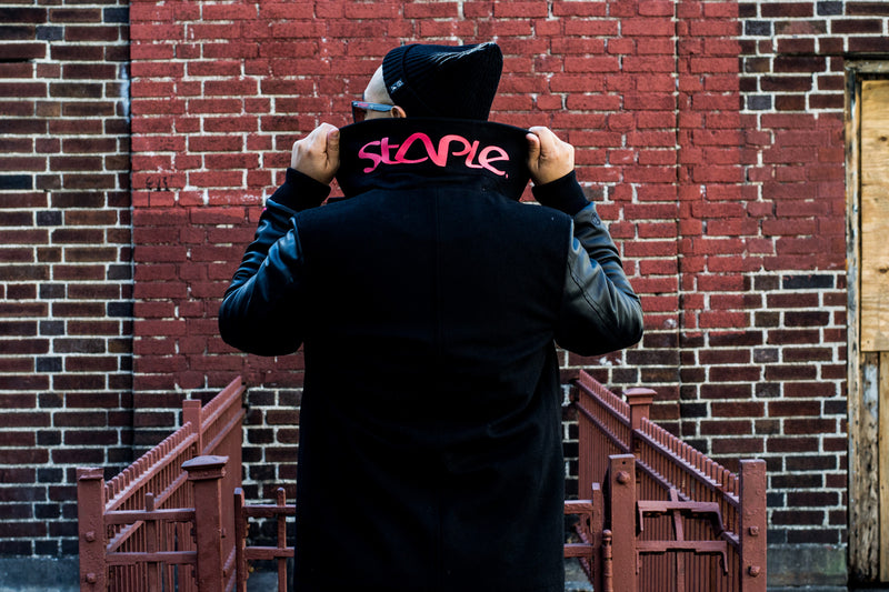 Staple x Urban Jungle Pea Coat Collaboration