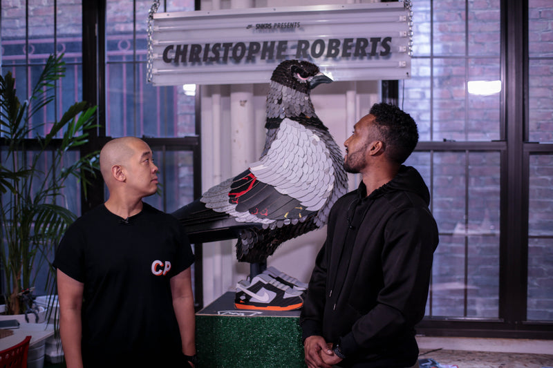 1-2-1 w/jeffstaple Feat. Christophe Roberts