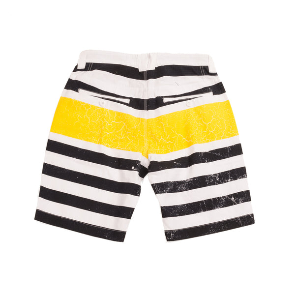 Wash Stripe Shorts - Shorts - Staple Pigeon