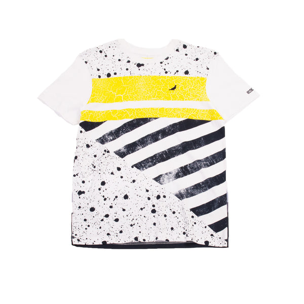 Wash Stripe Block Tee - Tee - Staple Pigeon