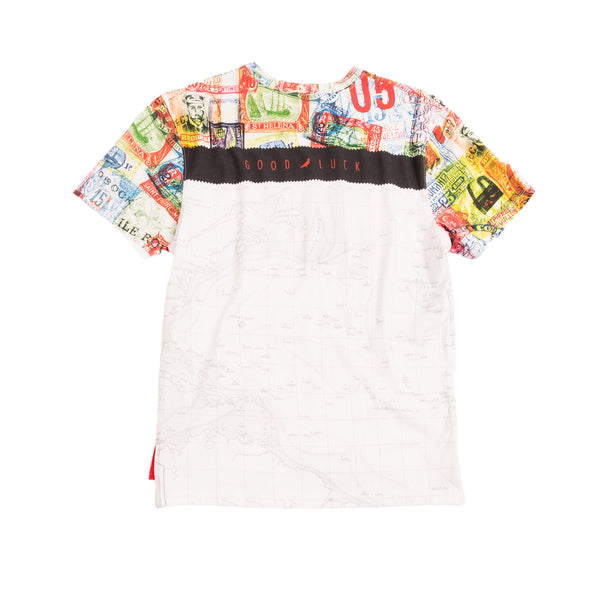 Map Allover Print Tee