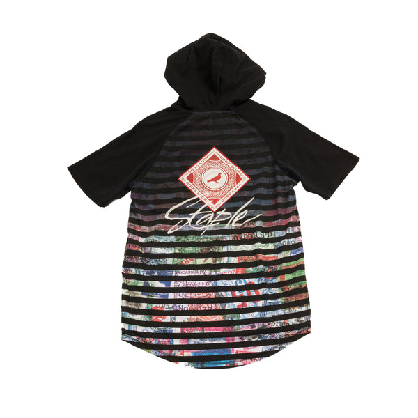 Map Hooded Tee - Tee - Staple Pigeon