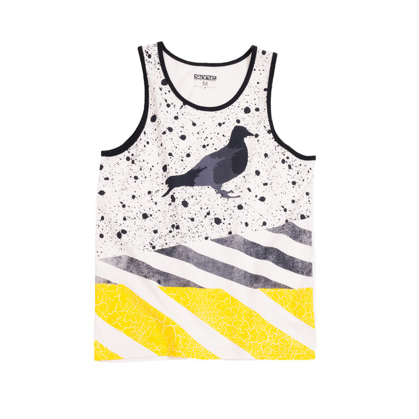 Wash Stripe Tanktop - Tee - Staple Pigeon