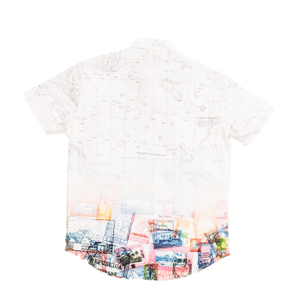 Map S/S Woven - Woven - Staple Pigeon