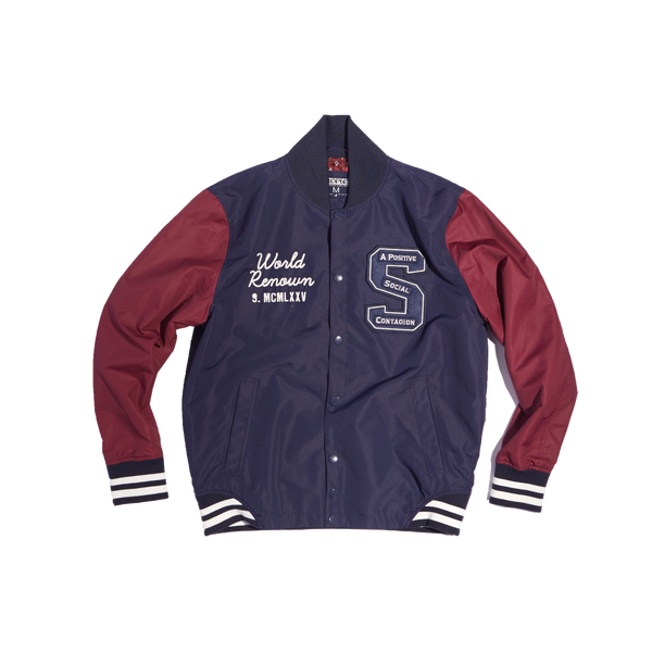 Academy Baseball Jacket - Jacket - Staple Pigeon