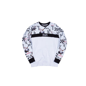 Checker Pigeon Crewneck - Sweatshirt | Staple Pigeon