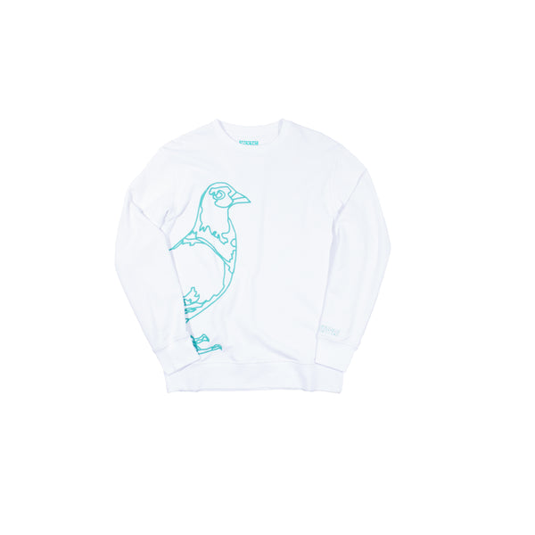 Stitch Pigeon Crewneck - Sweatshirt | Staple Pigeon