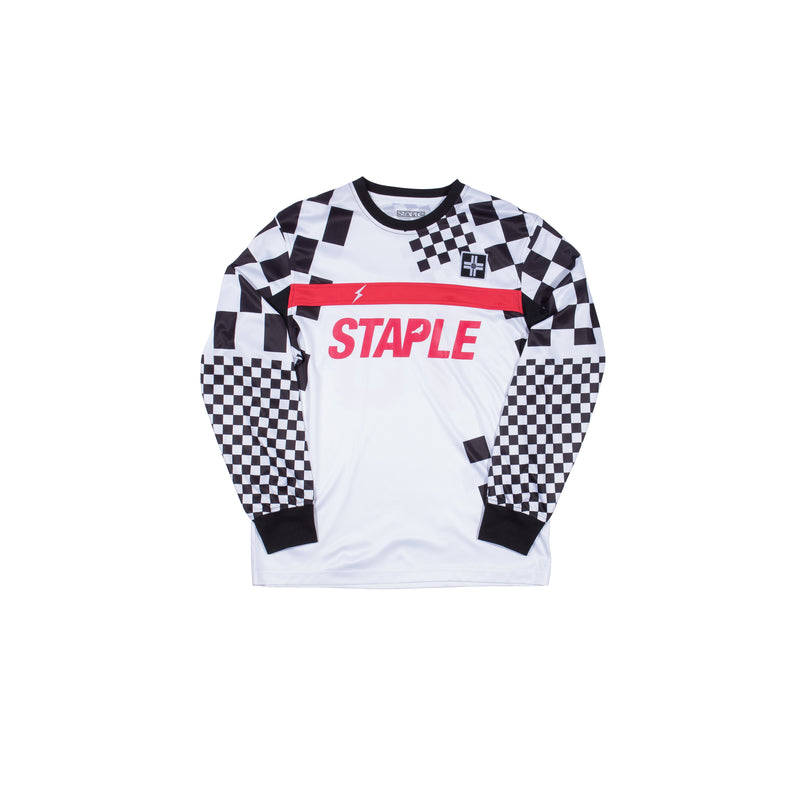 Checker Poly L/S Jersey - Tee | Staple Pigeon