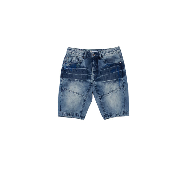 Stitch Denim Shorts - Shorts | Staple Pigeon