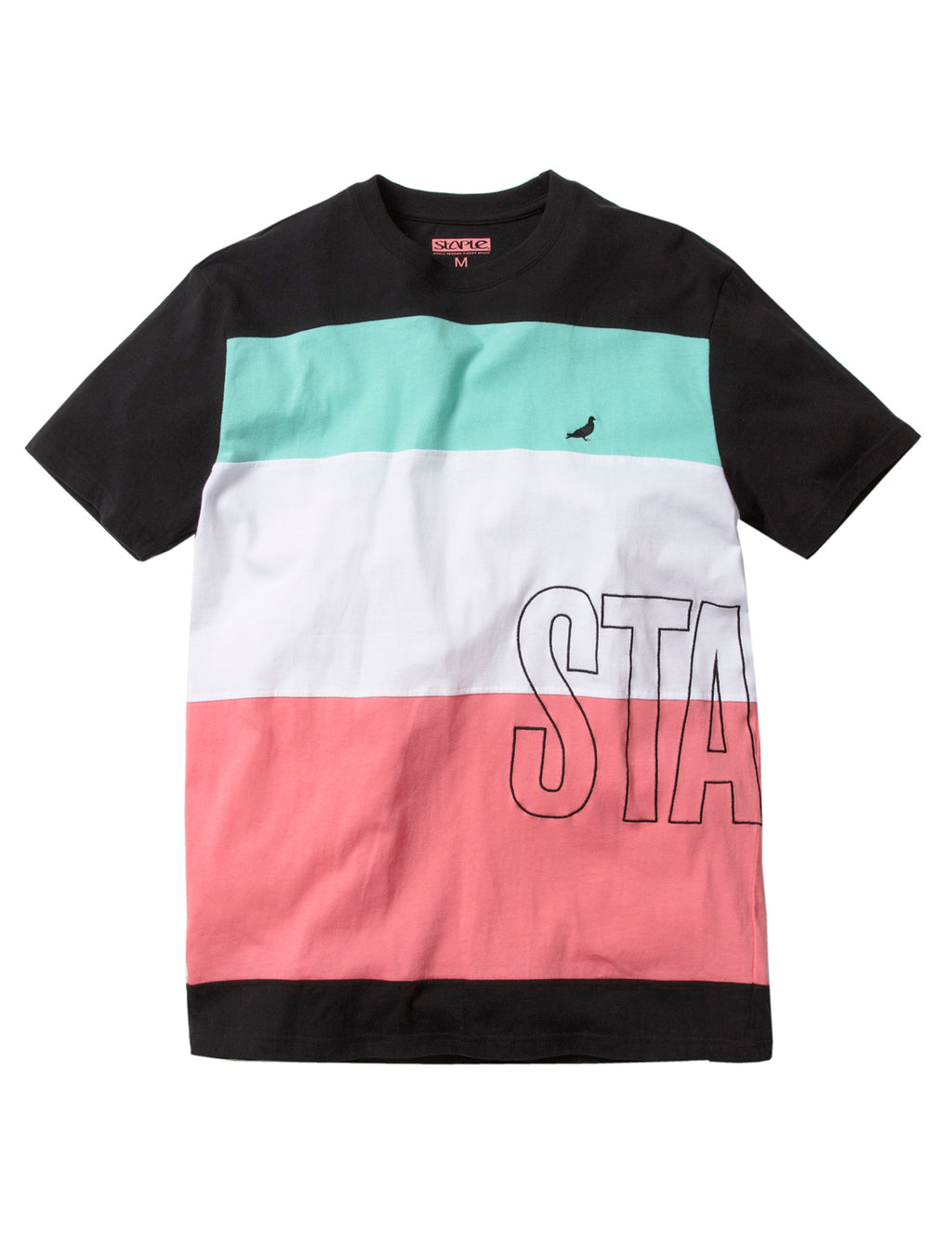 Deco Block Tee - Tee | Staple Pigeon