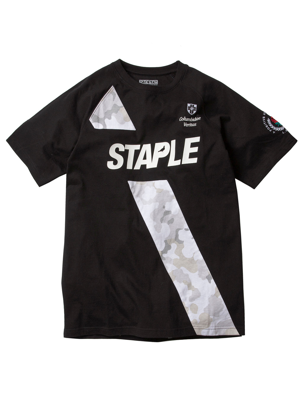 FC Staple Raglan Tee - Tee | Staple Pigeon