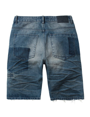 Shadow Patch Denim Short - Shorts | Staple Pigeon