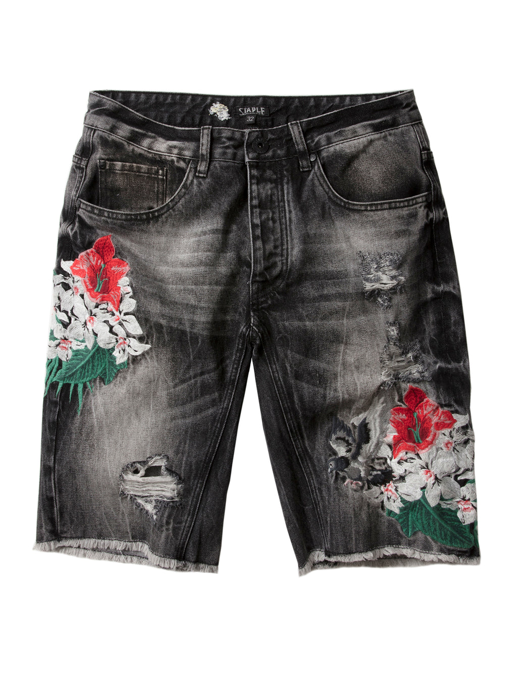 Botanica Denim Short - Shorts | Staple Pigeon
