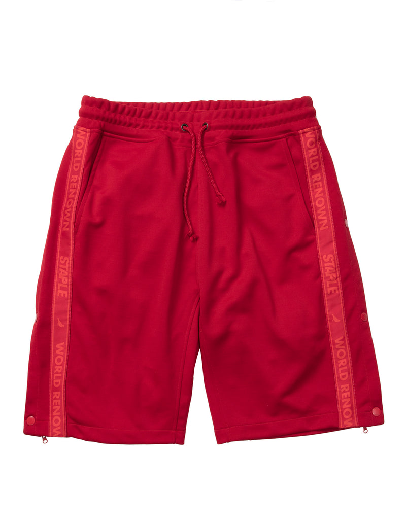 Tonal Tape Poly Shorts - Sweatpants | Staple Pigeon