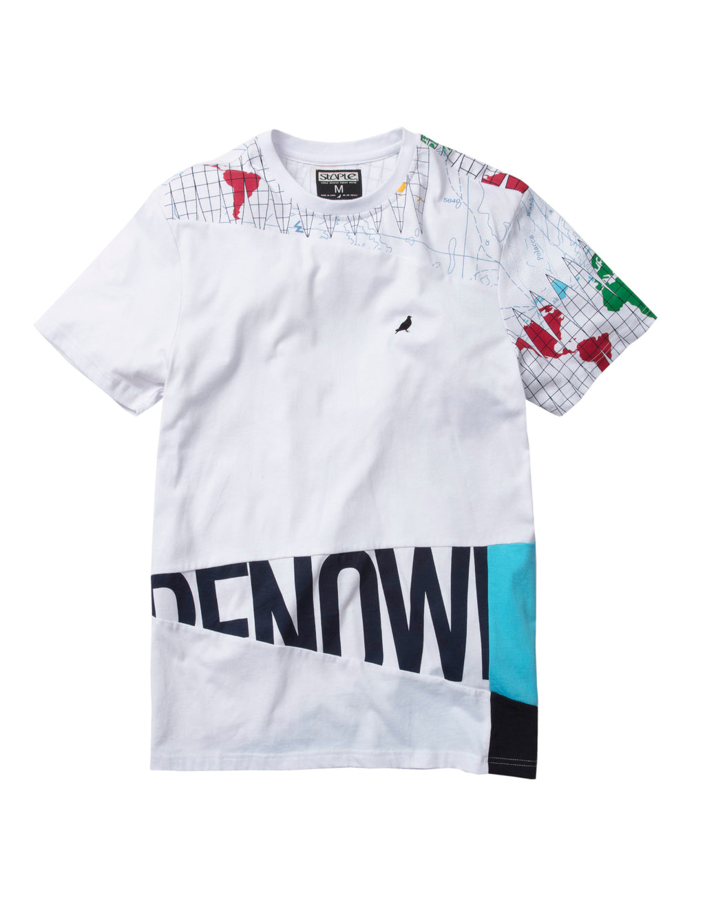 World Tour Pieced Tee - Tee | Staple Pigeon