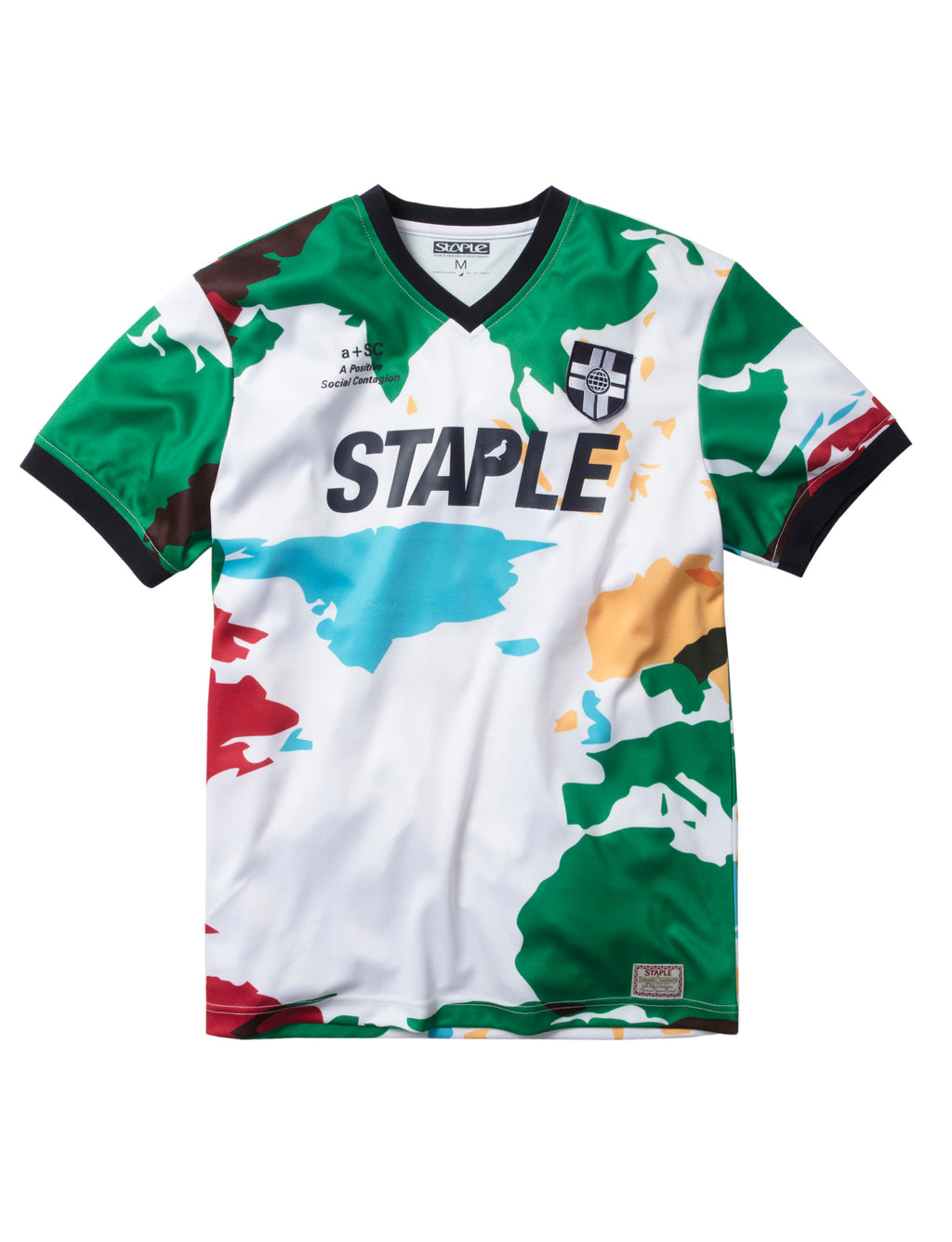 World Tour Soccer Jersey - Tee | Staple Pigeon