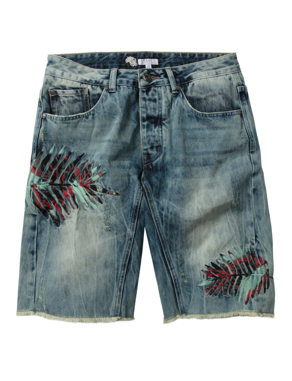 Jungle Denim Shorts - Shorts | Staple Pigeon