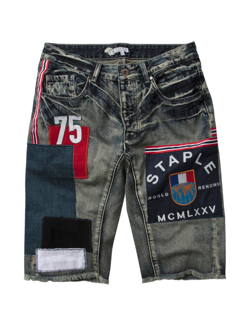 World Tour Denim Short - Shorts | Staple Pigeon