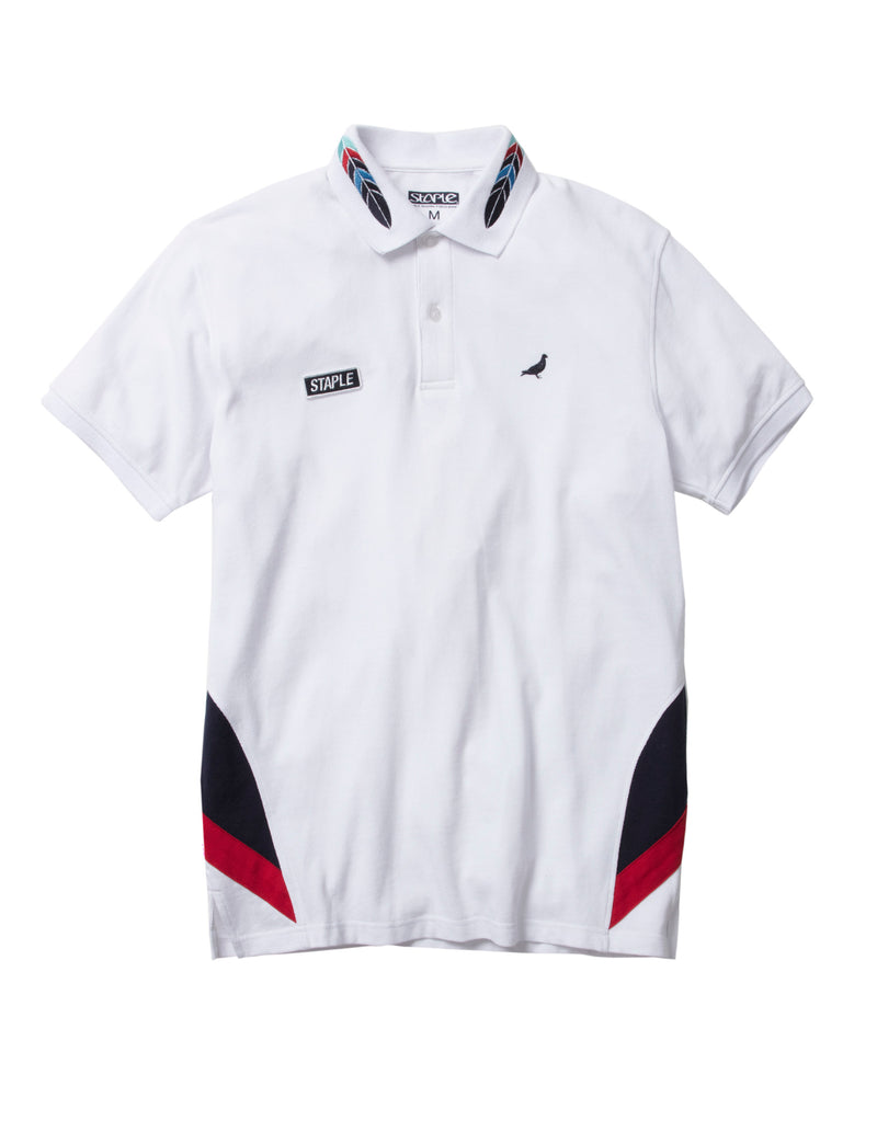 World Tour Feather Polo - Tee | Staple Pigeon
