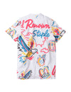 Electric Pigeon Embroidered Tee - Tee | Staple Pigeon