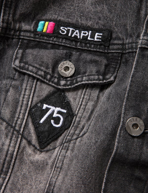 Electric Pigeon Denim Jacket - Jacket | Staple Pigeon