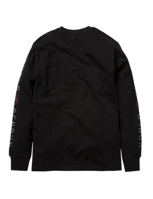 Feather Embroidered LS Tee - Tee | Staple Pigeon