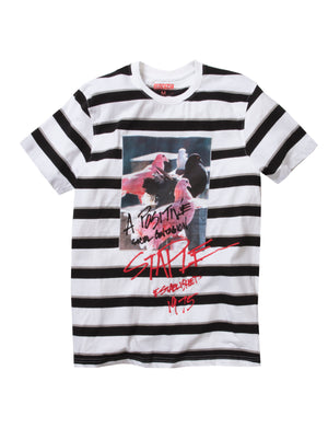 Graphic Stripe Tee - Tee | Staple Pigeon