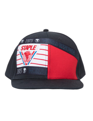 Trifecta Pieced Snapback - Hat | Staple Pigeon